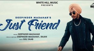 Just Friend – Deepinder Madahar